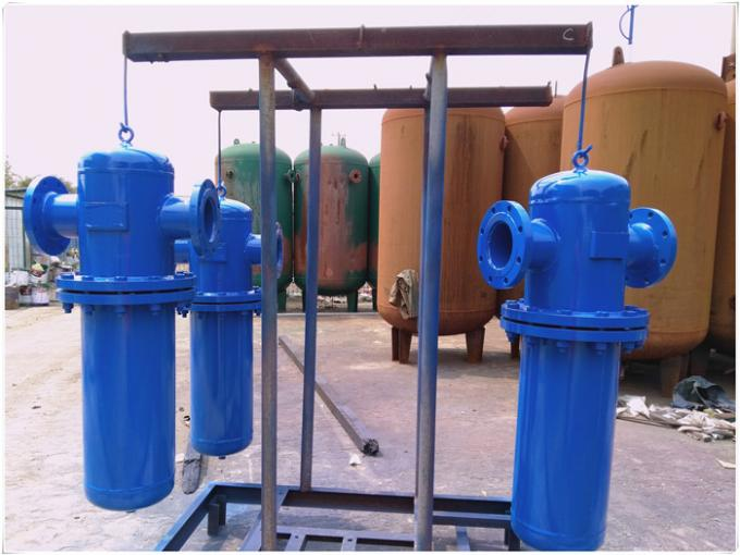 ASME Approved Natural Gas Storage Tank Separator Vessel High Temperature Resistant