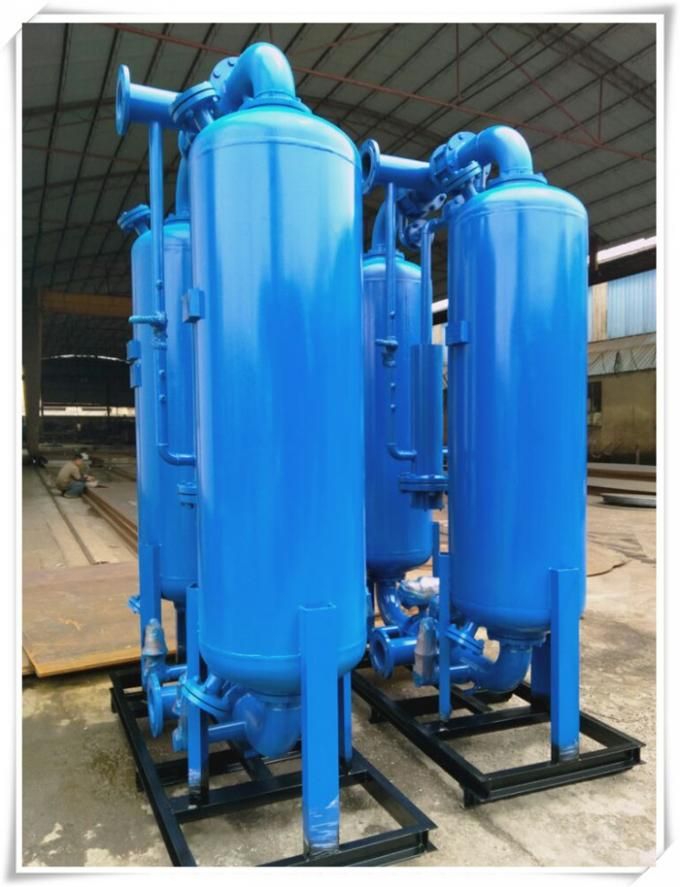 Stainless Steel Oxygen Storage Tank , Portable Storing Oxygen Containers Tanks