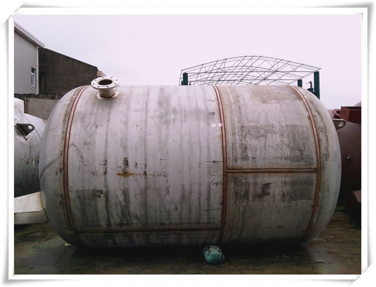High Pressure Horizontal Air Receiver Tanks With DN80 Flange Connector