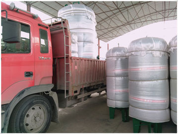 Vertical Compressed Oxygen Storage Tank 110 Degree Operating Temperature